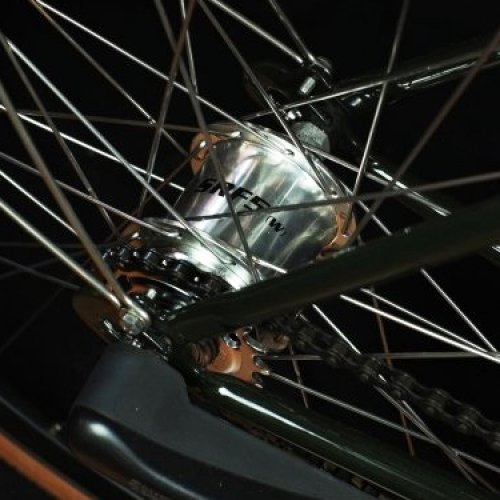 sturmey archer 3 speeds silver e