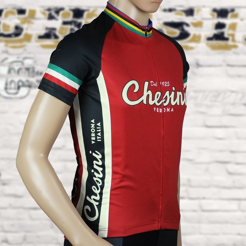 "CHESINI ""Champ 70's"" top - Jersey size M"