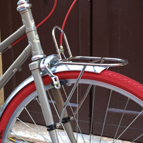 front rack chromed steel